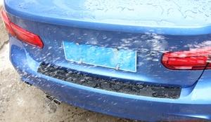 Image 4 - Hinten Schutz Platte Aufkleber Auto Stoßstange für Skoda Fabia 2 3 Karoq Kodiaq Octavia 3 Superb 2 3 Combi Yeti auto Zubehör