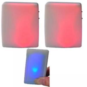 Image 1 - XINSILU Neue smart home produkt tür glocke, wireless remote flash Bunte musik türklingel für gehörlose (1 sender + 2 empfänger)