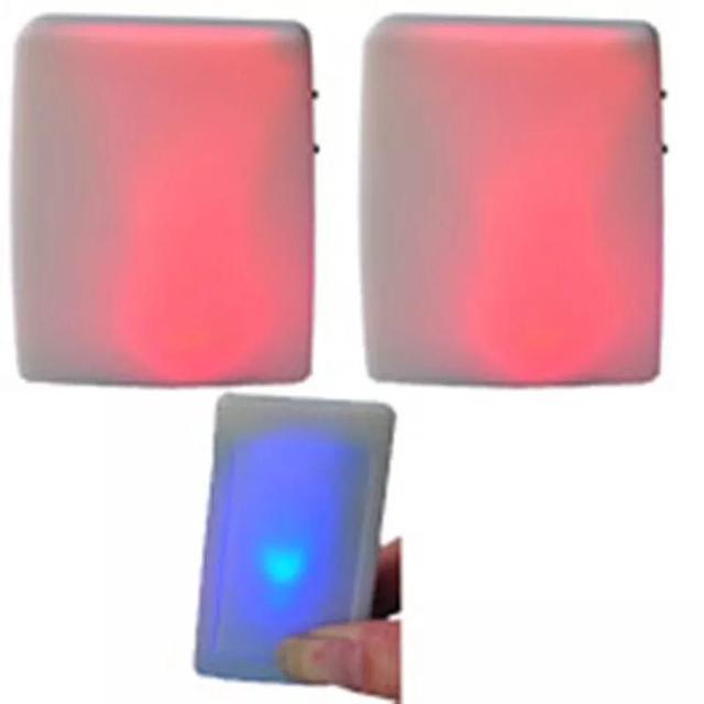 XINSILU Nuovo prodotto di casa intelligente campanello della porta, a distanza senza fili musica flash Colorato campanello per non udenti (1 trasmettitore + 2 ricevitori)