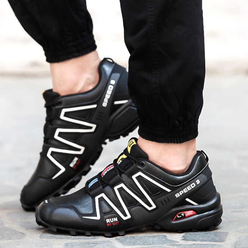 2019 Nieuwe Schoenen Mannen Outdoor Ademende Casual mannen Sneakers Slijtvaste Comfortabele Wandelschoenen Zapatillas Hombre Scarpe Uomo