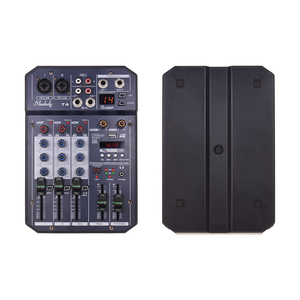 Image 3 - Muslady T4 Portatile 4 Channel Scheda Audio Mixing Console Mixer Audio Supporta Connessione BT Lettore MP3 Funzione di Registrazione per DJ