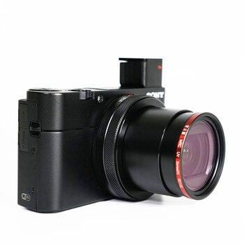 Anillo adaptador de filtro de aluminio para panasonic Lumix LX10 LX5 ZS110 para ricoh GR GRII GR2 GRIII GR3 Cámara accesorios lente 40,5 UV