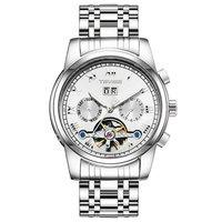 TEVISE Luxus Edle Männer Trend Uhr Mode Uhr Männer Mechanische Uhr Multi Funktion Wasserdicht Männer Uhr-in Partneruhren aus Uhren bei