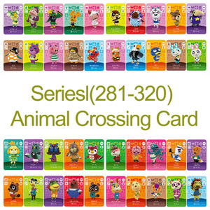 Image 1 -  Card NS Game Series 4 (281 to 320) Animal Crossing Card Work for