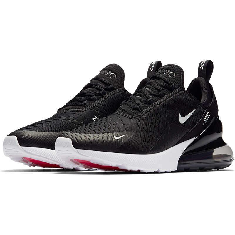 נייקי מקסימום אוויר 270 גברים של נעלי ריצה קלאסי חיצוני סניקרס לנשימה שרוכים דעיכת אנטי להחליק כושר ריצה WalkingAH8050