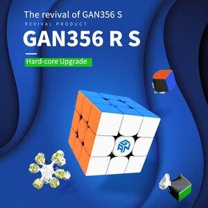 Image 2 - GAN 356 R S RS 3x3x3 cubo mágico 3x3 actualizado GAN356/356RS Cubo de velocidad profesional Neo rompecabezas juguetes anti estrés para niños
