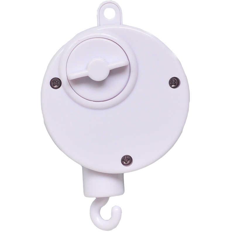 1pc เพลงกล่องรถเข็นเด็กทารก Crib เตียงแขวนชิ้นส่วนโทรศัพท์มือถือแขวน Bell ของเล่น Clockwork การเคลื่อนไหวเพลงมือถือกล่องคุณภาพสูง