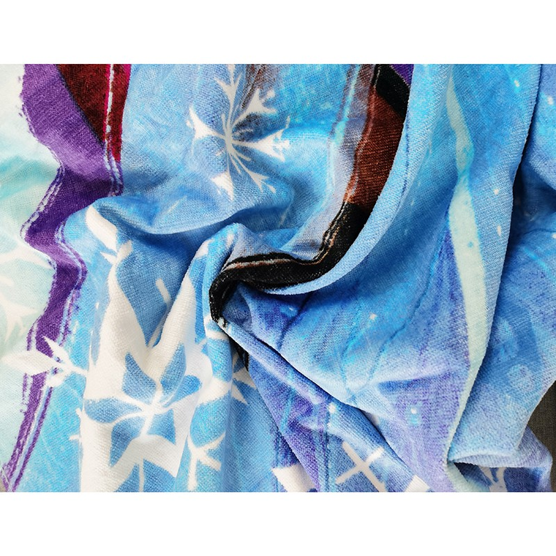 Disney congelado banho toalhas de praia elas