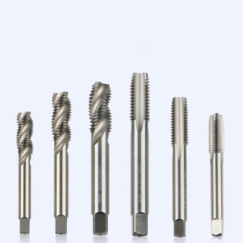 M2-M24 Stainless Steel Machine Tap Self Tapping Metric Tap Die Screw Extrusion Spiral Groove Tap Straight Groove Tapping 1pc metric left machine tap m26 x 3mm tap threading tools 26mm x 3 0mm pitch