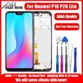 AAAA LCD Display Für Huawei P10 P20 Lite Touch Screen Display Digitizer Montage Ersatz Für Huawei P10 P20 Lite LCD bildschirm-in Handy-LCDs aus Handys & Telekommunikation bei