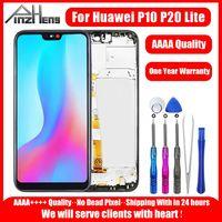 Aaaa display lcd para huawei p10 p20 lite tela de toque digitador assembléia substituição para huawei p10 p20 lite tela lcd|LCDs de celular| |  -