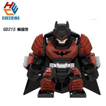 GD215 figuras grandes superhéroes construcción de bloques de Los Vengadores 4 Endgame negro Pantera ladrillos Sprider-hombre Iron Man juguetes para muñecas niños