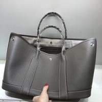 Kafunila geuine leather garden party tote bag for women 2019 luxury handbags women bags designer famous brand shoulder bag bosla