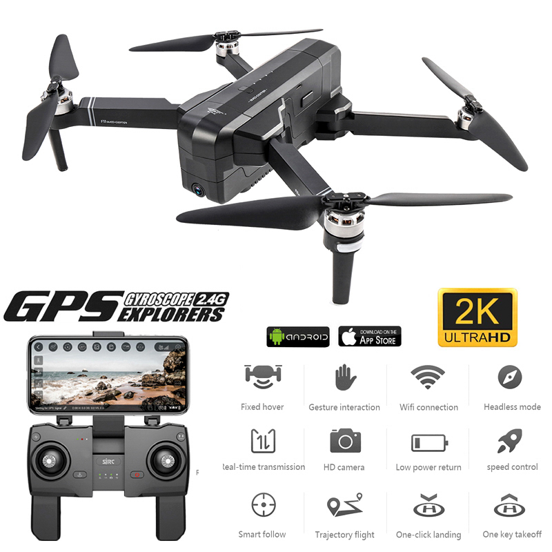 F11 PRO GPS Drone With Wifi FPV 1080P/2K HD Camera F11 Brushless Quadcopter 25 Minutes Flight Time Foldable Dron VS ZEN K1
