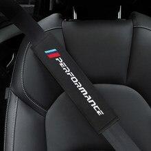 Housse de ceinture de sécurité voiture style Auto étui pour BMW M Power Performance M3 M5 X1 X3 X5 X6 E46 E39 E36