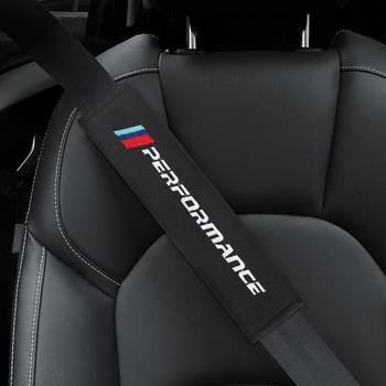 Nakładka na pas bezpieczeństwa w samochodzie Car Styling Auto Case dla BMW M mocy M3 M5 X1 X3 X5 X6 E46 E39 E36 tanie i dobre opinie 26cm Carbon fiber Posiadacze samochodów disc podatku 0 06kg 43642