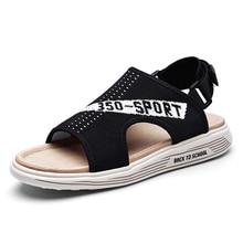 Men Sandals 2020 Buckle Men Sandals Outdoor Breathable Summer Shoes Comfort Male Beach Shoes Sandalias Hombre summer men s sandals fashion breathable casual shoes men comfort sandalias hombre outdoor mens beach shoes gladiator sandals