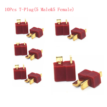 5Pairs Male Female T Plug Connector iMax b6 Battery balance charger Accessory For RC Lipo/Ni-CD Battery charging
