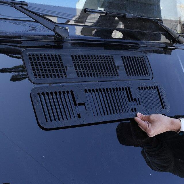 Dla Mercedes Benz G klasa W463 G350 G500 G63 19 20 aluminiowa przednia osłona silnika osłona wentylacyjna panel dekoracyjny akcesoria samochodowe