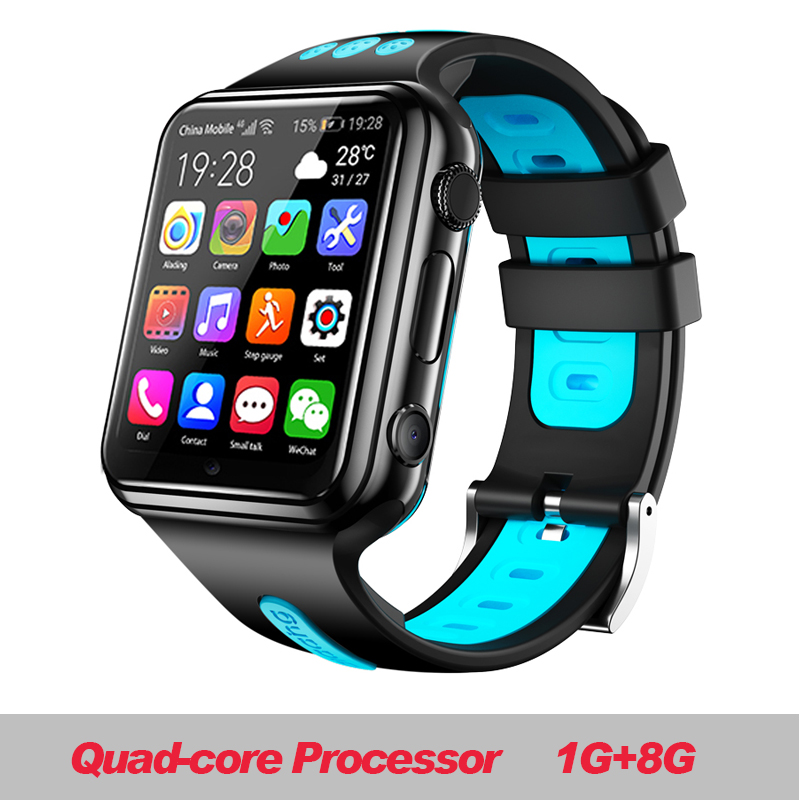 W5 2020 NFC Waterproof 4G Smartphone Watch Downloadable APP MP4 Play AI Smart Voice Smartwatch Reloj Mujer Inteligente Icwatch image