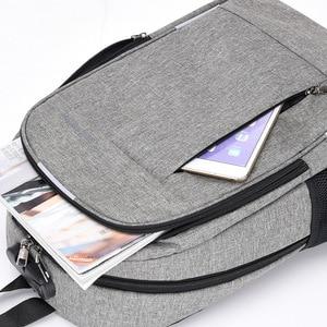 Image 5 - Mochila antirrobo para hombre, mochila escolar para ordenador portátil de lona para hombres, mochila para adolescentes, mochila escolar para adolescentes, mochila para hombre y Estudiante