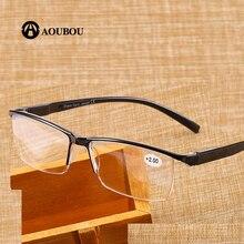 Óculos de leitura masculino ultraleve, óculos de leitura para homens