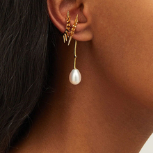 Joolim Stylish Pearl Clip Earring Customized Wholesale