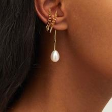 Joolim Stylish Pearl Clip Earring Customized Wholesale