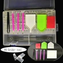 Plastic Box Mosaic-Accessories Diamond Painting Storage-Box-Tool HUACAN Pen New-Arrival