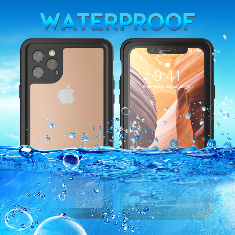 Swim Diving <font><b>Phone</b></font> <font><b>Case</b></font> For iPhone 11 Pro Max <font><b>Case</b></font> Shockproof Dustproof Full Body IP68 Waterproof <font><b>Case</b></font> for iPhone 11 Pro X XS MAX XR 11Pro <font><b>Water</b></font> <font><b>Proof</b></font> <font><b>Phone</b></font> Shell image