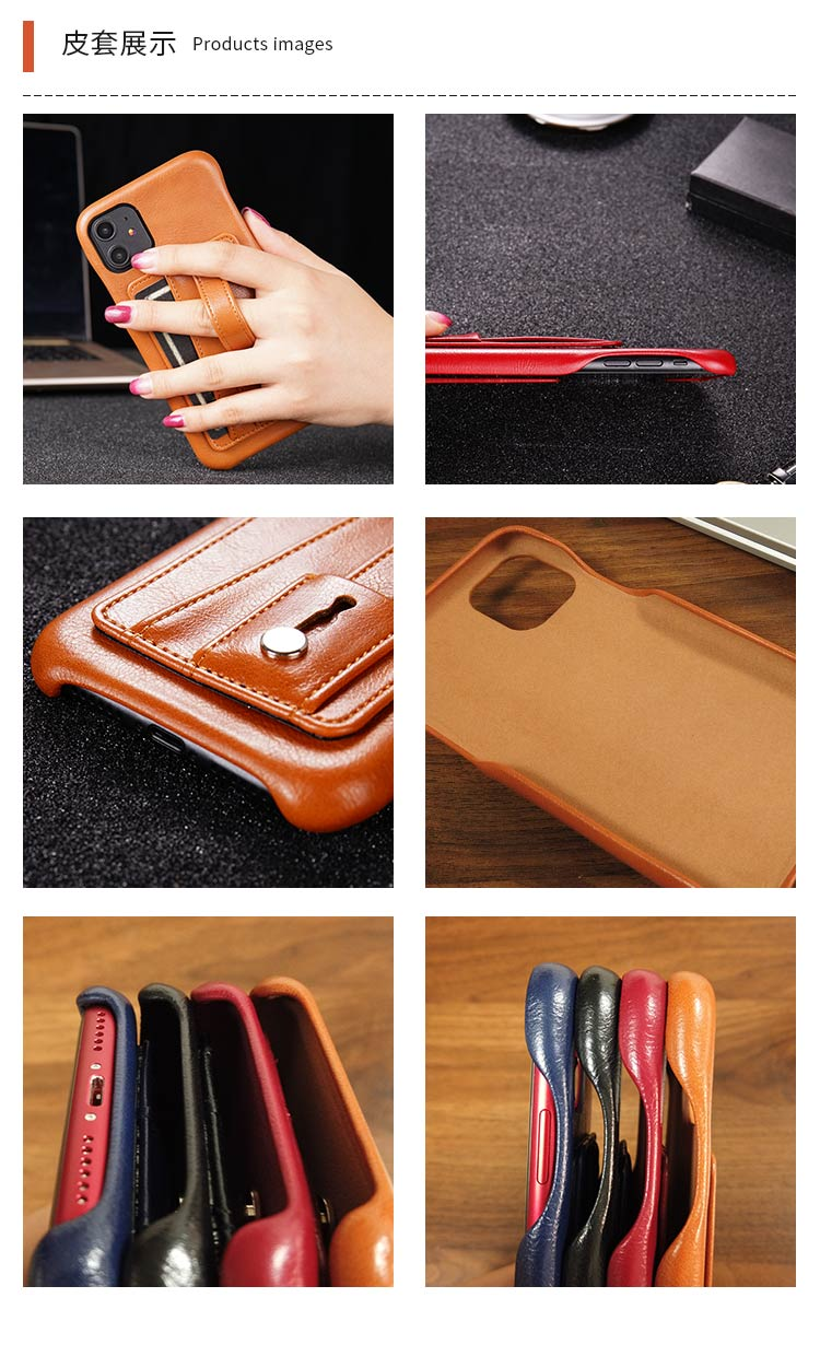 Leather Case For OPPO Find X2 Reno 2 Z 10X 4 Pro Ace 2 Card Slot Back Cover For OPPO A92S A83 A71 A79 Finger Ring Bracket Case