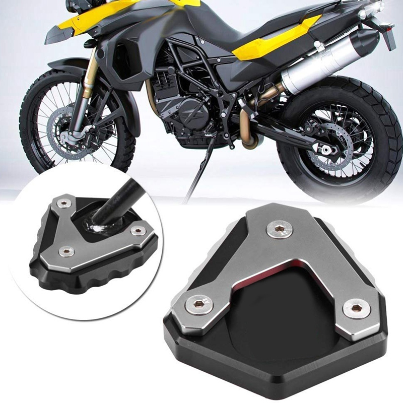Motorcycle Kickstand Plate Side Stand Extension Plate Enlarger For BMW G310GS 2017-2018