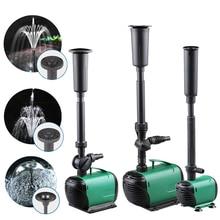 새로운 8/14/24/55/85W 고출력 분수 워터 펌프 분수 제조기 연못 풀 가든 수족관 물고기 탱크 멀티 성능 순환