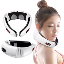 Electric Neck Massager & Pulse Back 6 Modes Power Control Fa