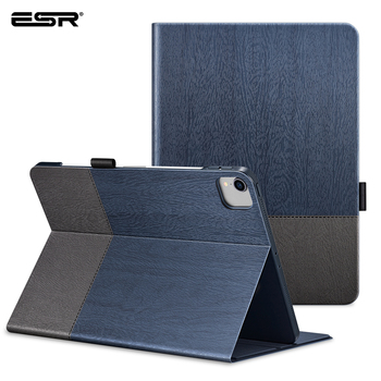 цена на ESR Case for iPad Pro 12.9 Case 2020 Oxford Cloth Back Cover Auto Sleep/Wake up Smart Cover for iPad Pro 2020 11 12.9 Case Funda