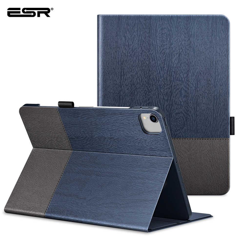 ESR durumda iPad Pro 12.9 durumda 2020 Oxford bez arka kapak otomatik uyku/uyandırma akıllı kapak için iPad Pro 2020 11 12.9 kılıf Funda