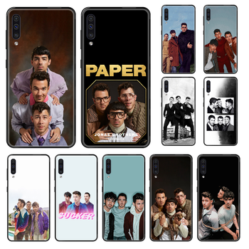 Jonas Brothers Rock Phone case For Samsung Galaxy A 3 5 8 9 10 20 30 40 50 70 E S Plus 2016 2017 2018 2019 black luxury back 3D image