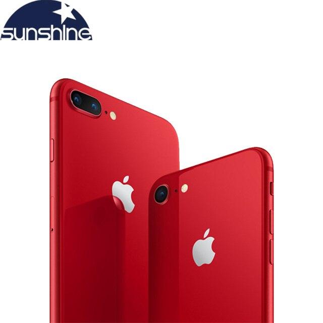 Original Apple iPhone 8 / 8 Plus 2G RAM 64GB/256GB ROM Fingerprint Cellphone 4G LTE  4.7''12.0 MP Camera Hexa-core IOS