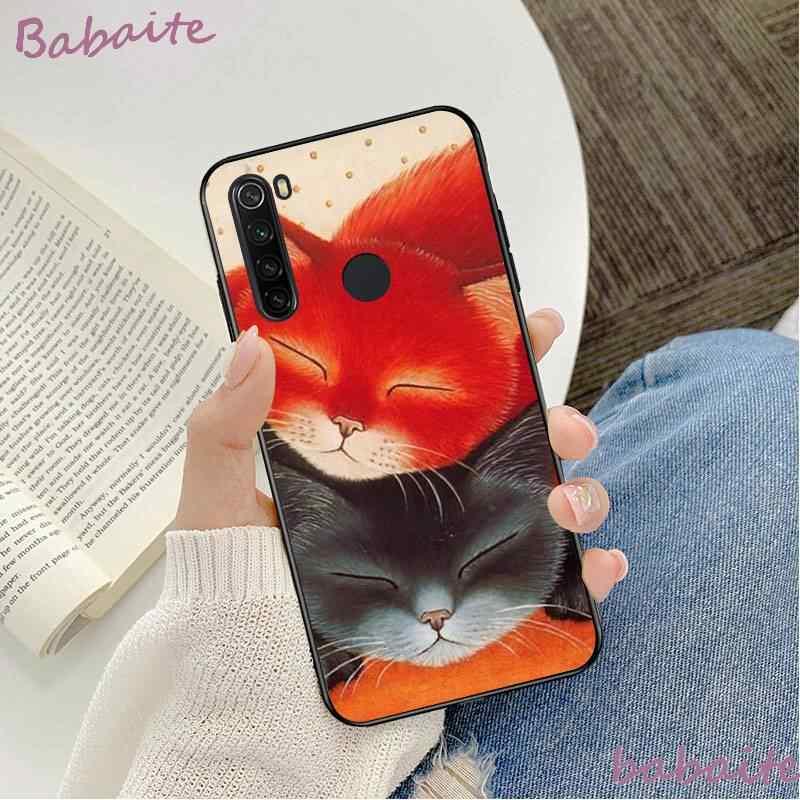 Babaite ไม่การ์ตูนแมวสุนัขซิลิโคนอ่อนโทรศัพท์ TPU ฝาครอบสำหรับ Xiao Mi Mi redmi K20 NOTE4 4X 5 5A 6 6PRO 7 8 8PRO โทรศัพท์มือถือ