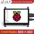 JRP5008 монитор HDMI 480*854 емкостный сенсорный экран Raspberry Pi 4 3B +/ PC/Banana Pi Модуль дисплея 5 дюймов