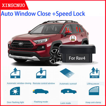 XINSCNUO New Smart Electronics window lift For Toyota RAV4 2019 2020 Auto OBD Speed Lock & Window closer image
