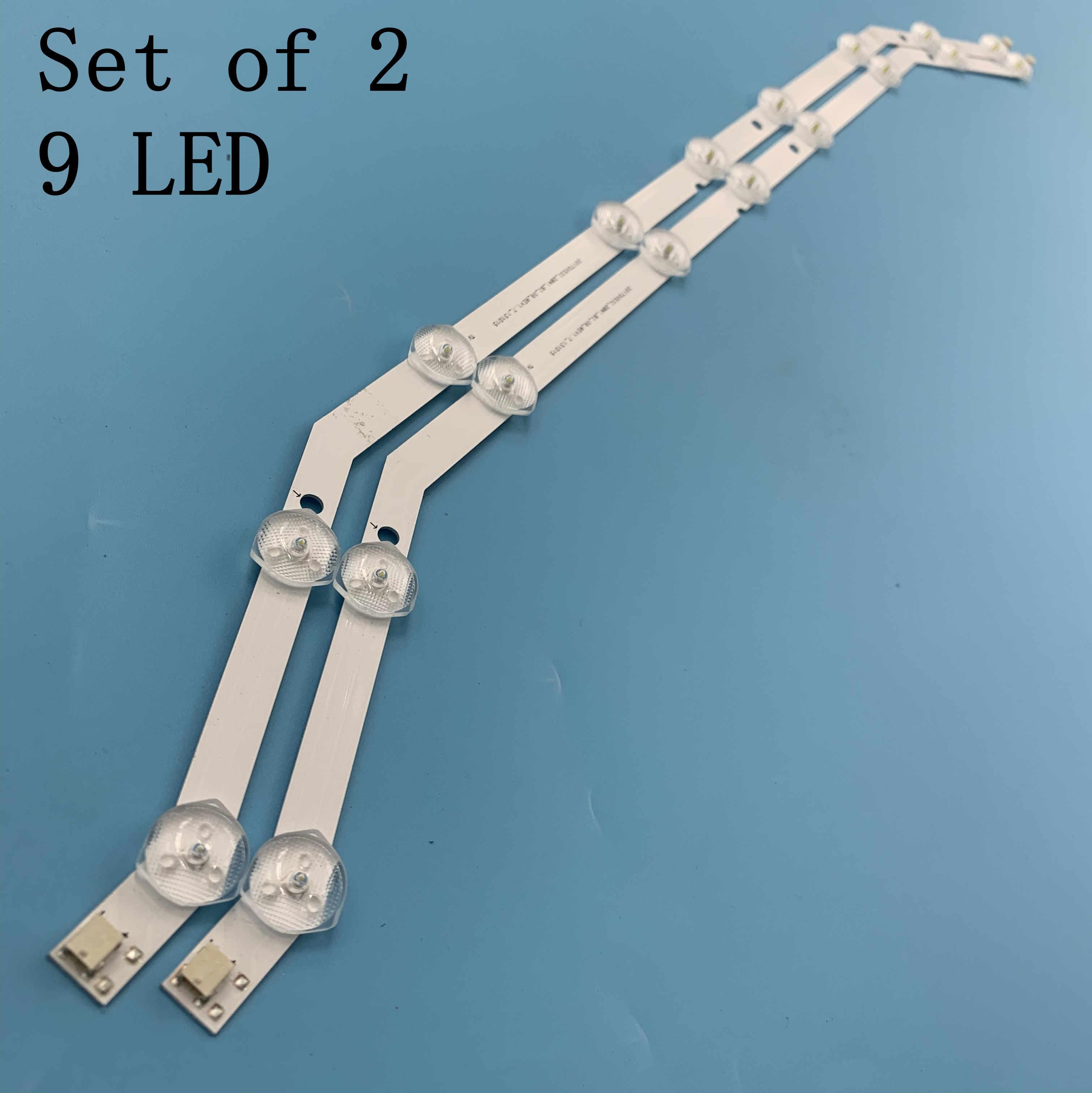 """9LED Backlight Strip Voor Samsung 32 """"Tv 2013svs32_3228N1_B2_09 Barra 9-Led Strip D3GE-320SM0-R2 UE32EH4003WX"""
