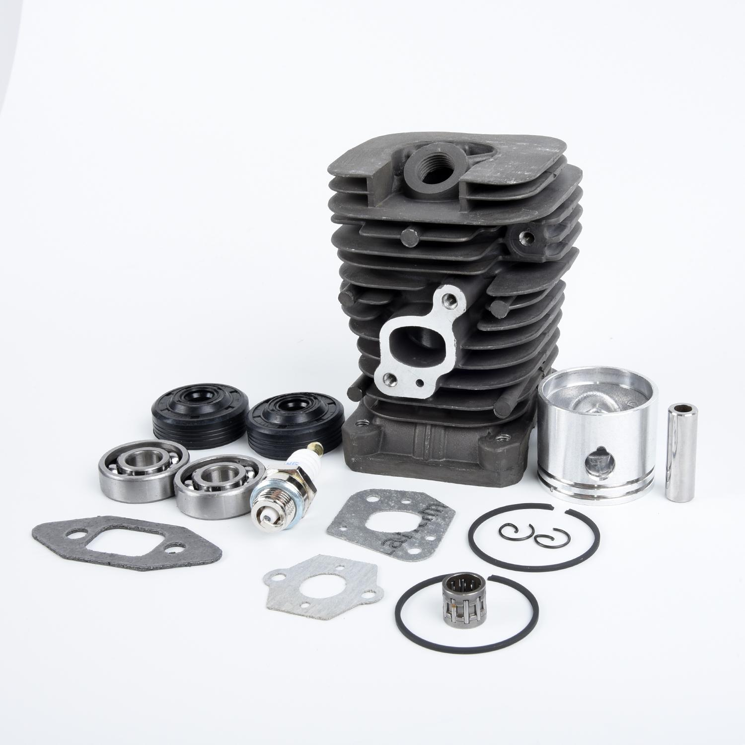 Chainsaw Cylinder Piston Kit For Jonsered CS2137 CS2138 2035 41.1mm Accessories Replacement High Quality