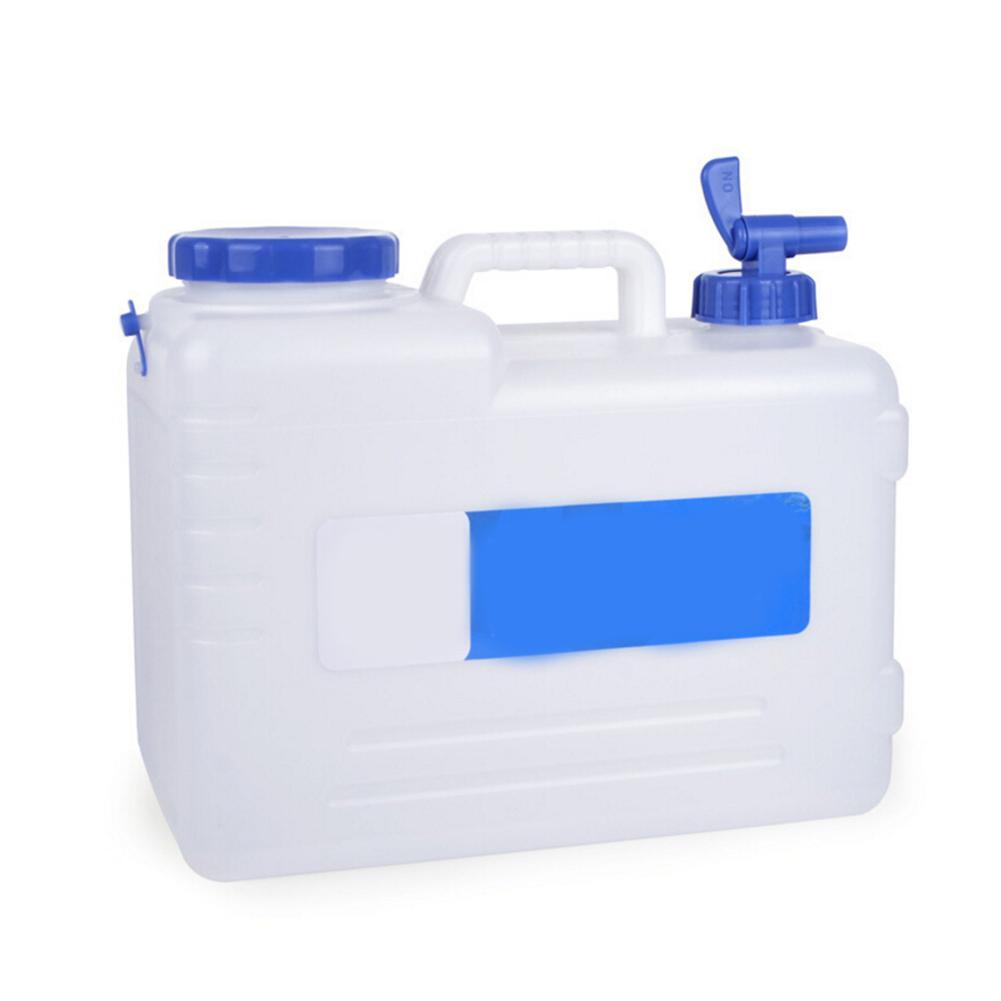15L Bidón//contenedores de Agua Portátiles Plegables para Acampada Senderismo