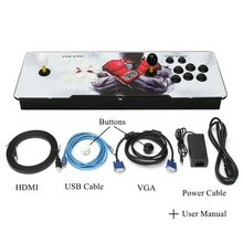 846 Games Support HDMI VGA Home TV Arcade Game Console Kit Set Double Joystick Children Game Console With Pause Function цена 2017