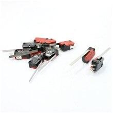 10 x конец гоночный шарнир рычаг длинный прямой рычаг оснастки действия микропереключатель красный+ черный