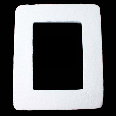 Polystyrene Styrofoam White Foam Photo Frame Children DIY Handmade Materials Decoration Supplies 23*28cm