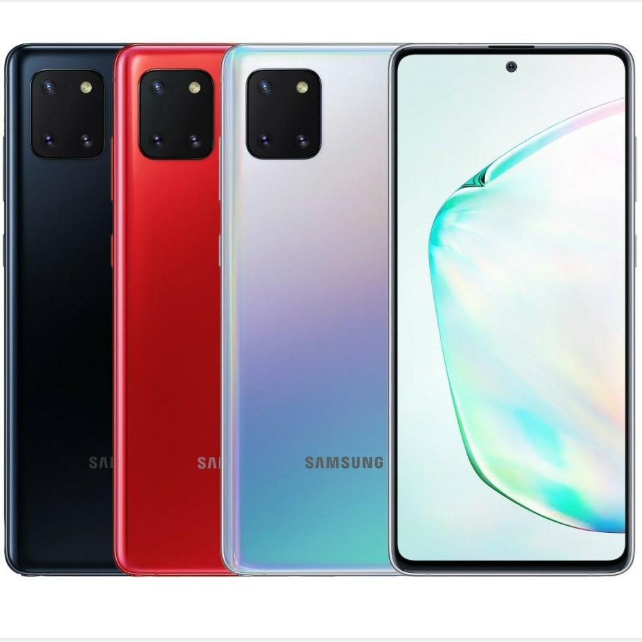 Перейти на Алиэкспресс и купить global samsung galaxy note10 lite sm-n770f/ds dual sim mobile phone 6.7дюйм. 8gb ram 128gb rom octacore 4500mah nfc android 10 phone