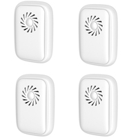 4 Pack Ultrasonic Pest Repeller  Pest Control Ultrasonic Repellent  Electronic Repellant - Bug Repellent for Ant US Plug