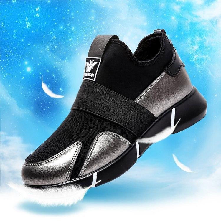 2019 женские кроссовки; Вулканизированная обувь; женская Повседневная дышащая обувь для прогулок; сетчатая обувь на плоской подошве; большие размеры; пара обуви; Размеры 35 40|Кроссовки и кеды|   | АлиЭкспресс
